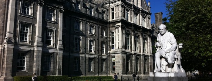 Trinity College is one of Dublin City Guide.