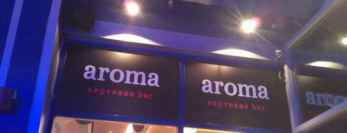aroma espresso bar is one of Пабы и бары / Pubs & Bars (Kyiv, Ukraine)..