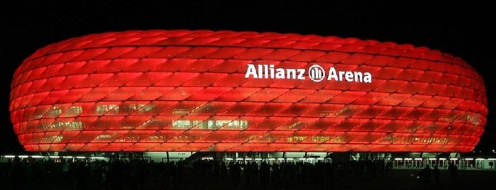 Allianz Arena is one of Best football stadiums I've seen a match.