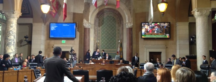 L.A. City Hall Council Chambers is one of Las Vegas & California.