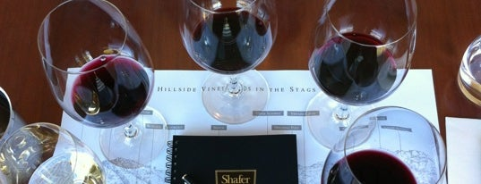 Shafer Vineyards is one of NVFF | Wine Partners.