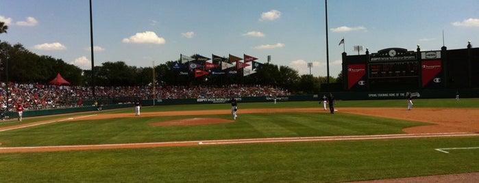 Champion® Stadium is one of Grapefruit League.
