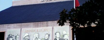 Grand Ole Opry House is one of Sites and Sounds in Nashvegas.