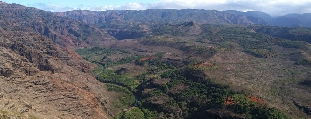 Waimea Canyon Lookout is one of Kauai.