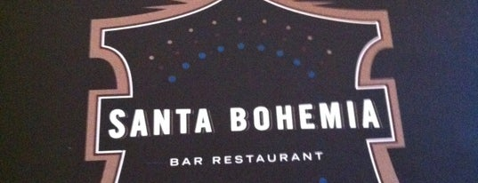 Santa Bohemia is one of Love eat!.