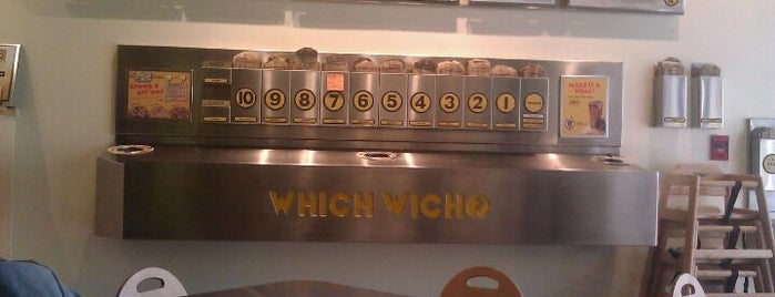 Which Wich? Superior Sandwiches is one of The Discerning Brit's Guide to Orlando, FL.