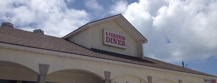 4 Corners Diner is one of Ericさんのお気に入りスポット.