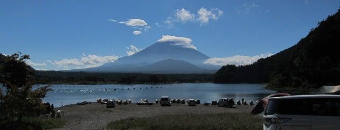 Lake Shoji-ko is one of Favorite Campground.