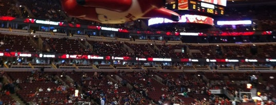 United Center is one of Friends Food.