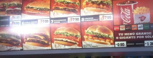 Burger King is one of Juan carlos : понравившиеся места.