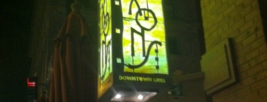 Dixon's Downtown Grill is one of Bars with WiFi.
