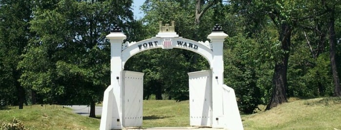 Fort Ward Museum and Historic Site is one of Revolutionary War Trip.
