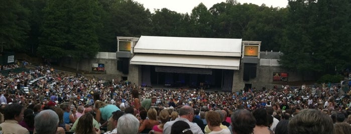 Chastain Park Amphitheater is one of Atlanta.