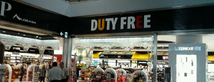 Duty Free Shop is one of Malaga, Spain.