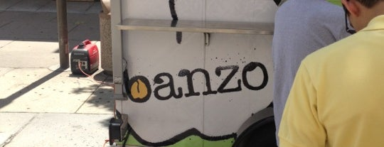 Banzo is one of Bob'un Kaydettiği Mekanlar.
