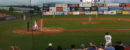 Nymeo Field at Harry Grove Stadium is one of Minor League Ballparks.