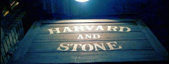 Harvard & Stone is one of bars.