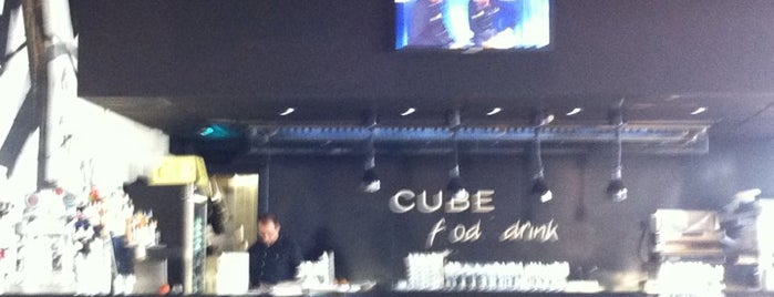 Cube Food&Drink is one of My favs Manresa.