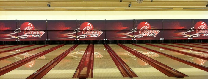 Cherry Lanes is one of Bowling allys.