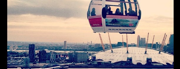 Emirates Air Line is one of Trips / London.