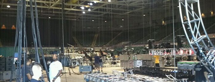 Bancorp South Arena is one of 2014 U.S. Tour.