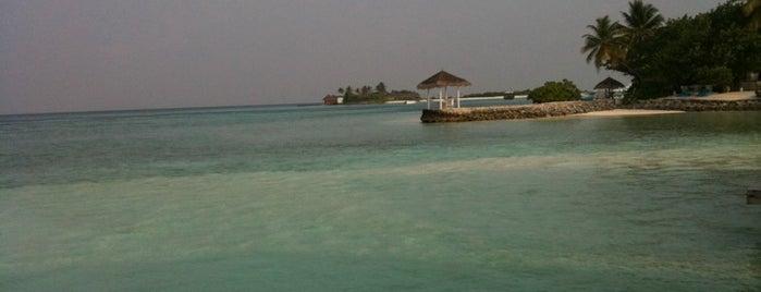 Four Seasons at Kuda Huraa Resort is one of Beach Destinations Around the World.