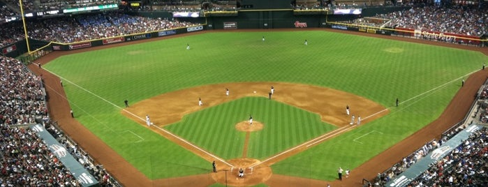 Chase Field is one of MLB Baseball Stadiums.