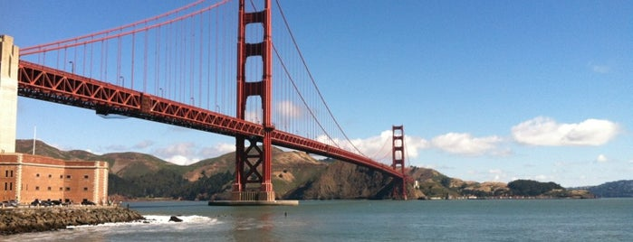 Crissy Field is one of San Francisco Unfamous Spot.