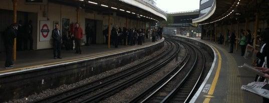 Westbourne Park London Underground Station is one of Underground Stations in London.