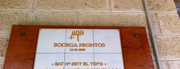 Bodega Frontos is one of Islas Canarias: Tenerife.