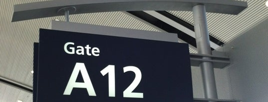 Gate A12 is one of Tempat yang Disukai Ray.