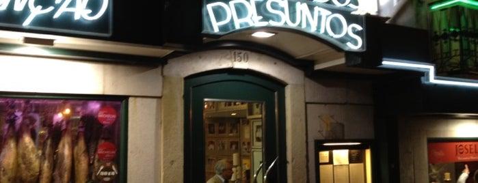 Solar dos Presuntos is one of Lisboa ... restaurantes.