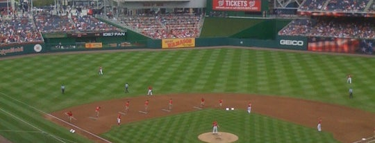 Nationals Park is one of Major League Baseball Parks.
