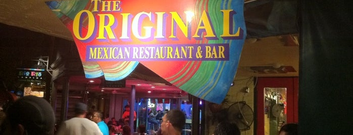 The Original Mexican Restaurant & Bar is one of Lugares favoritos de John.