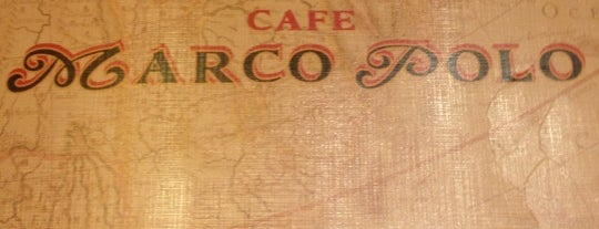 Café Marco Polo is one of Женяさんのお気に入りスポット.