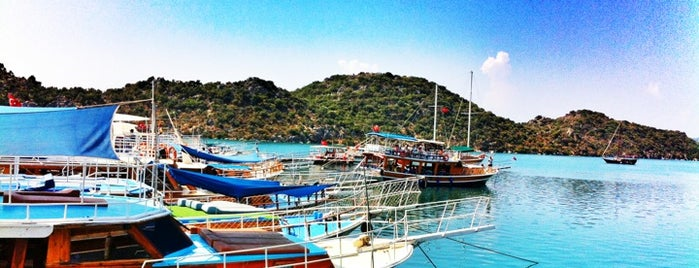Kekova Marina is one of Antalya Aile Turu.