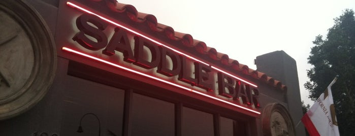 Saddle Bar is one of Go here.