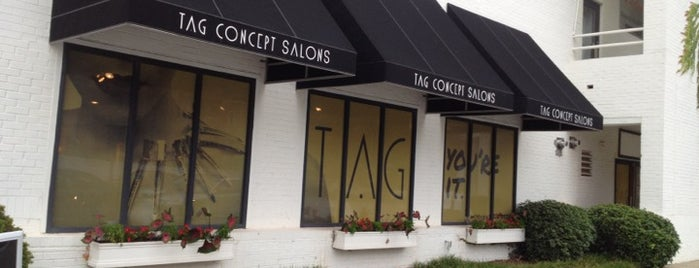TAG Concept Salons is one of Marshaさんの保存済みスポット.