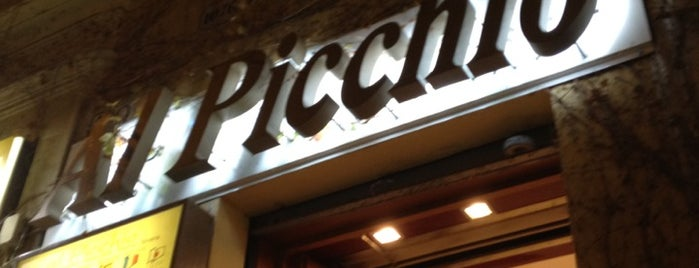 Pizzeria Al Picchio-Rosticceria is one of Lieux qui ont plu à 'Özlem.