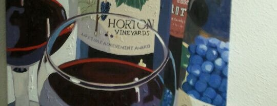 Horton Vineyards is one of VA Win that's Fine!.