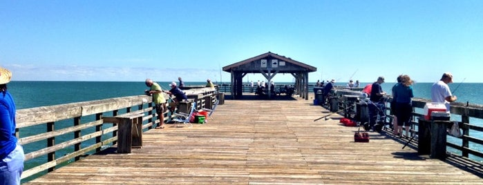 Myrtle Beach State Park Pier is one of GREAT PLACES TO VISIT IF YOUR IN THE AREA.