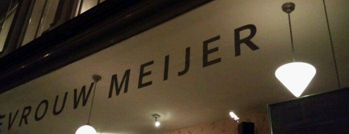 Mevrouw Meijer is one of Rotterdam.