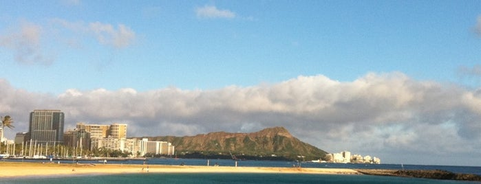 Magic Island is one of Oahu V2.