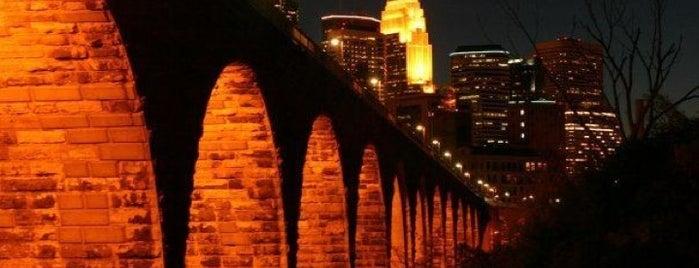 Stone Arch Bridge is one of Best Spots in Minneapolis, MN!.