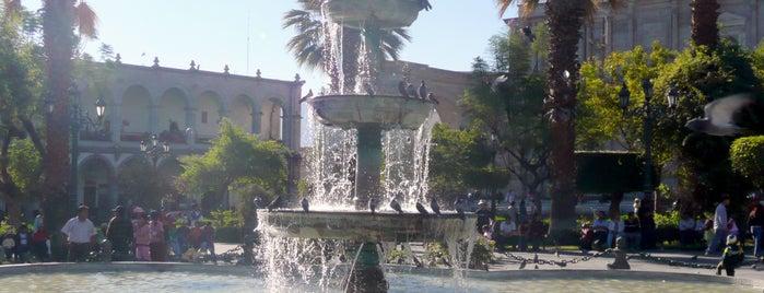 Plaza de Armas is one of Peru.