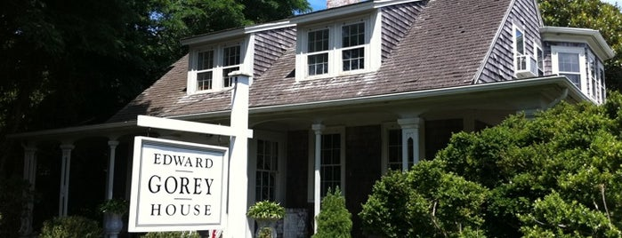 The Edward Gorey House is one of Cape cod.