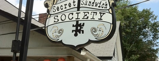 Secret Sandwich Society is one of The Coziest Spot in Every State.