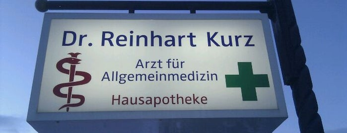 Kurz, Dr.  Reinhart is one of Tempat yang Disukai Bravura.