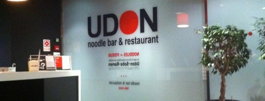UDON is one of De comer.