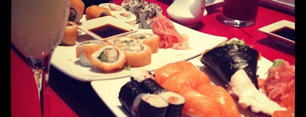 Mizu Sushi Bar & Delivery is one of Tempat yang Disimpan Alejandro.